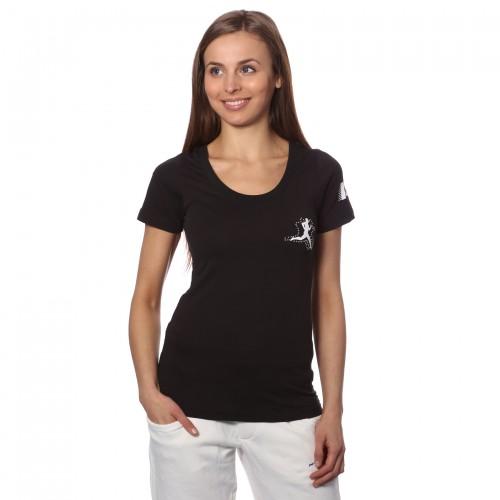 T-shirt luxury nera