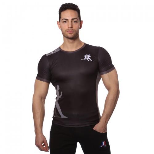T-shirt roma nera