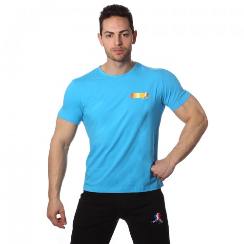 T-Shirt Sport Turchese